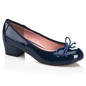 Casa Rossi Yuvarlak Burunlu Rugan Ayakkabı