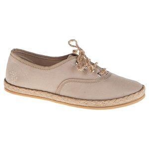 U.S. Polo Assn. Hasır Tabanlı Düz Ayakkabı