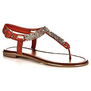 Aldo Brısky Taşlı Parmak Arası Sandalet
