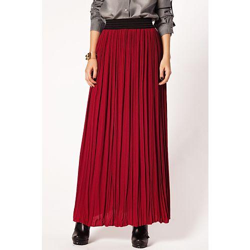 Batik Scarlet Fever Uzun Etek
