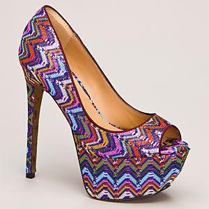 Betsey Johnson Barrdot Platform Topuklu Ayakkabı