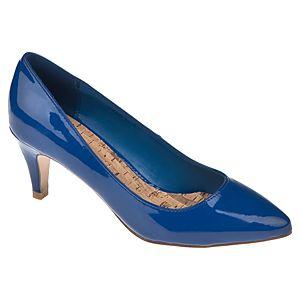 Canzone Alçak Topuklu Sivri Burunlu Ayakkabı
