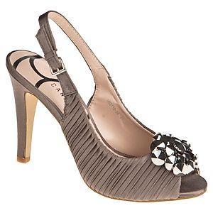 Canzone Saten Topuklu Ayakkabı