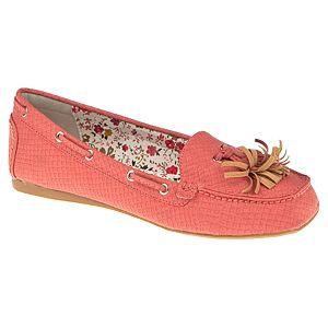 Canzone Yılan Derisi Efektli Renkli Loafer