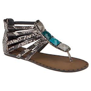 Casa Rossi Taşlı Sandalet