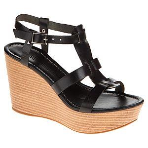 Messimod Bantlı Dolgu Topuk Sandalet