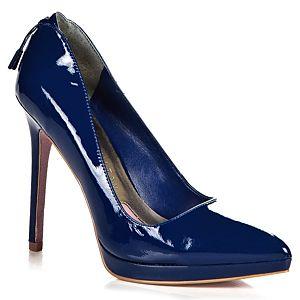 Paris Hilton Tamora Sivri Burunlu Fermuar Detaylı Ayakkabı