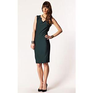 Afrodit Dilim Yaka Elbise