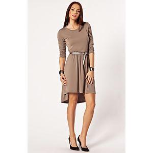 Batik Asimetrik Elbise