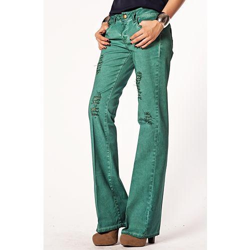 Batik İspanyol Paça Pantolon