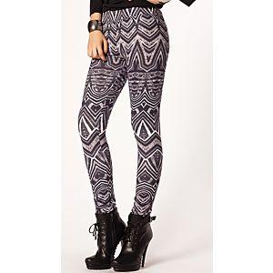 Batik Print Design Tayt