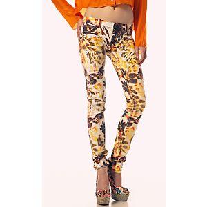 Custo Renkli Desenli Non-Denim Pantolon
