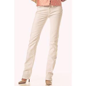 D&G Beyaz Non- Denim Pantolon