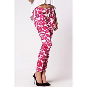 D&G Çiçek Desenli Non-Denim Pantolon