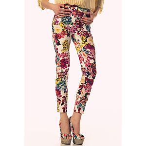 D&G Çiçek Desenli Pantolon