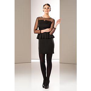 Milla by trendyol Kolları Tül Peplum Elbise