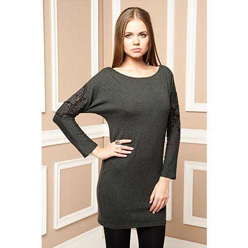 Milla by trendyol Kolu Nakışlı Tunik Elbise