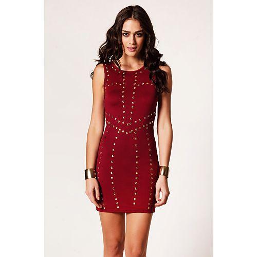 Rare London Zımbalı Elbise
