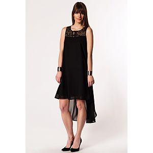 Vero Moda Cleo Payet Detaylı Asimetrik Elbise