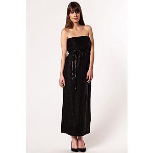 Vero Moda Crazy Straplez Uzun Elbise