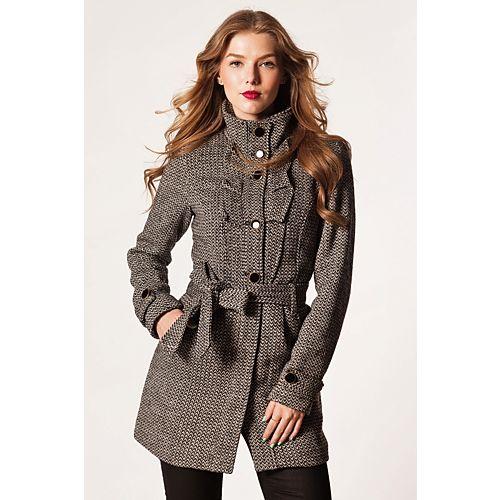 Vero Moda Hela Fırfır Detaylı Yünlü Palto