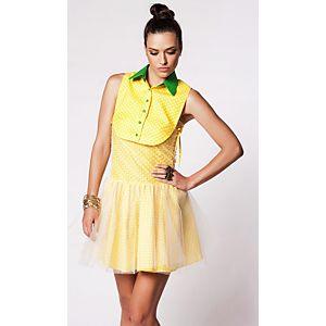 Kiki's Design Puantiye Büstlü Elbise