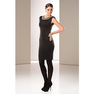 Milla by trendyol Yakası Boncuklu Elbise