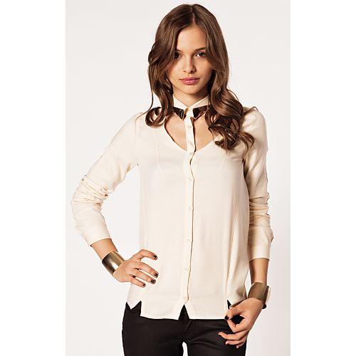 Modagram Elita Yaka Detaylı Gömlek
