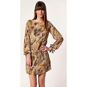 n-value Desenli Elbise