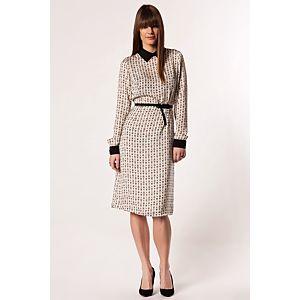 NG Style Lolanna Baykuş Desenli Elbise