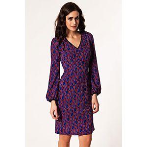 NG Style Lonnanese Desenli Elbise