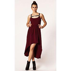 Rare London Askılı Elbise