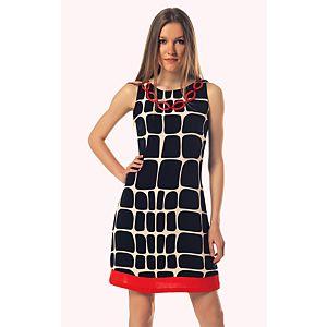 Rinascimento Kolye Detaylı Kolsuz Elbise