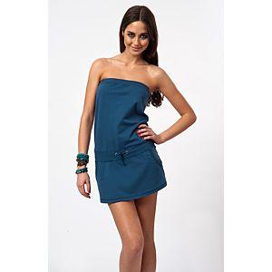 Sisley Straplez Elbise