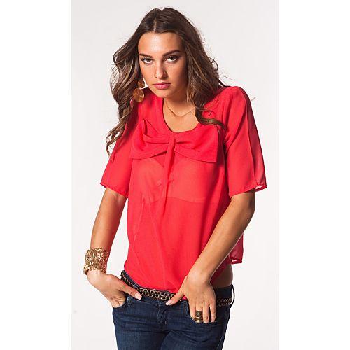 Vero Moda Claudia Fiyonk Detaylı Şifon Bluz