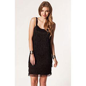 Vero Moda Fringy Püsküllü Mini Elbise