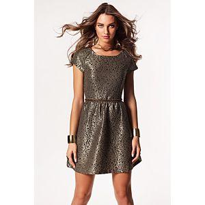 Vero Moda Karat Brokar Mini Elbise