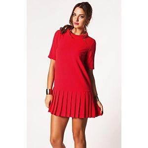 Vero Moda Koreksa Pileli Mini Elbise