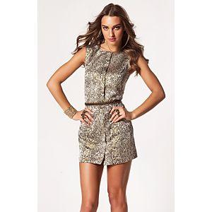 Vero Moda Lippa Brokar Mini Elbise