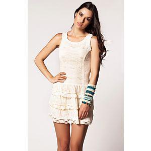 Vero Moda Lovely Lace Elbise