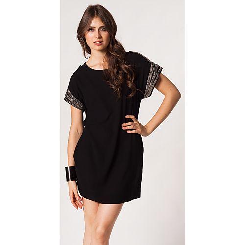 Vero Moda Mandy Kolları Boncuklu Mini Elbise