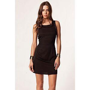 Vero Moda Siffy Zımbalı Mini Elbise
