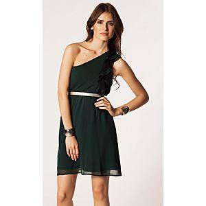 Vero Moda Wilma Tek Omuzlu Mini Elbise