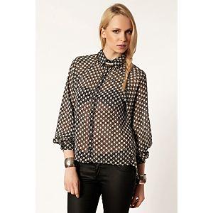 Batik Kate Geometrik Desenli Gömlek