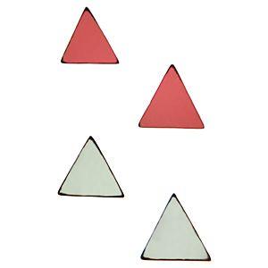 Pieces Oli Üçgen Küpe