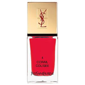 Yves Saint Laurent La Laque Couture Oje N04 Corail Colisee