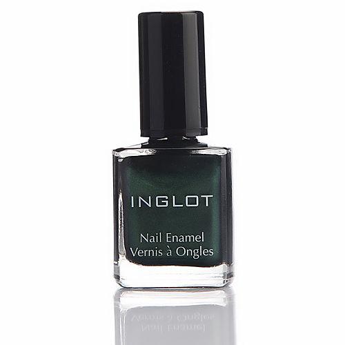Inglot Oje 966 Metalik Koyu Yeşil