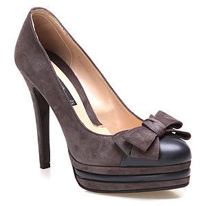 Albano Fiyonklu Kahverengi Ayakkabı