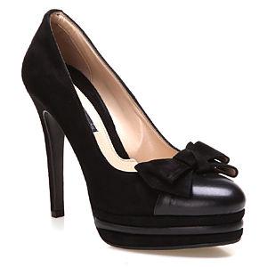 Albano Siyah Topuklu Ayakkabı