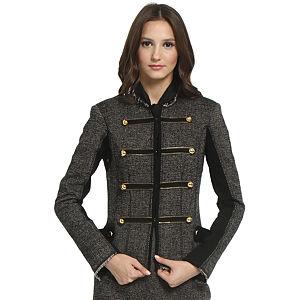 Balizza Kırçıllı Gri Ceket